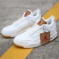 "Levi's x Air Jordan 4 Retro ""White Denim"" - Best Deal Online"