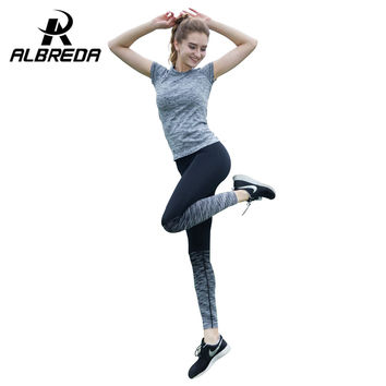 RODEX 2016 New Yoga Leggings For Women Gym Clothing Sports Slimming Pants Workout Sport Fitness Slim Running Clothes