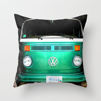 vw luv Throw Pillow by smilingbug | Society6