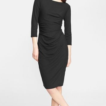 Women's Max Mara 'Valzer' Ruched Jersey Dress,