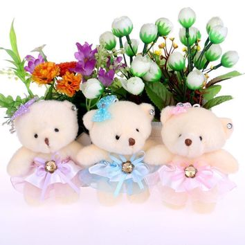 Toys for girls cute lovely teddy bear plush toys doll kid doll flower bouquets bear For Christmas Gift doll cute bears