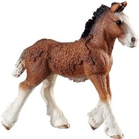 Schleich Shire Foal Toy Figure