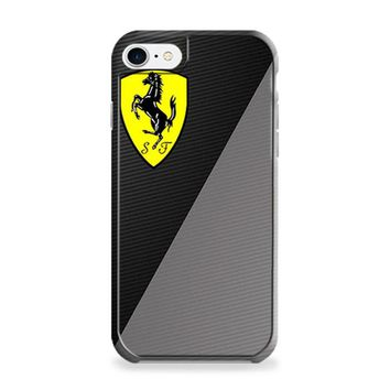 Black White Ferrari iPhone 6 Plus | iPhone 6S Plus Case