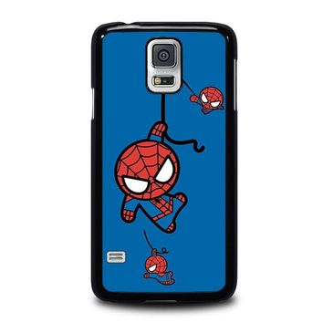 spiderman kawaii marvel avengers samsung galaxy s5 case cover  number 2