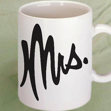 Mrs. coffee mug,tea mug,cup mug 11oz
