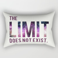 The Limit Does Not Exist - Mean Girls quote from Cady Heron Rectangular Pillow by AllieR