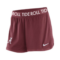 Nike College Mesh Alabama Women's Shorts - Maroon