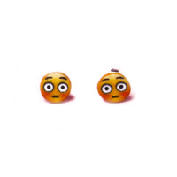 Emoji Blush Earrings