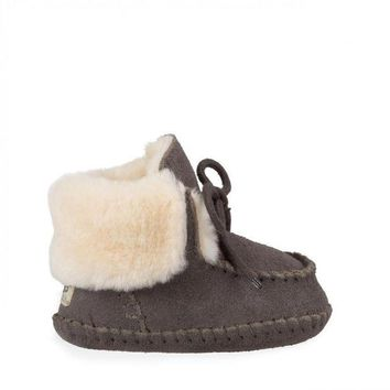 DCCK8X2 Baby Sparrow Sheepskin Lined Moccasin