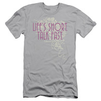 GILMORE GIRLS/LIFES SHORT - S/S ADULT 30/1 - SILVER -