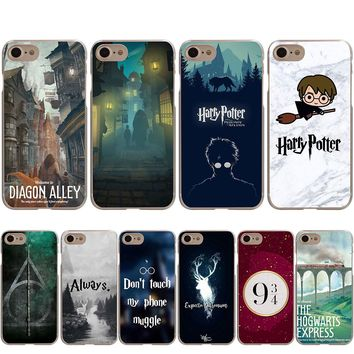 Harry Potter Welcome to Diagon Case for iPhone Apple X 10 8 7 6 6S Plus 5 5S SE