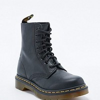 Dr. Martens Pascal Eight-Eyelet Black Boots - Urban Outfitters