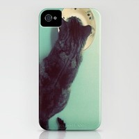 Cat and Saucer iPhone Case by Skye Zambrana   Society6
