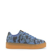 Xti Navy Round Toe Sneakers