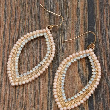 At First Blush Earrings