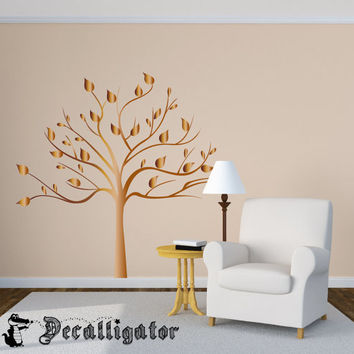 Wall Decal - Big, Elegant Tree - Mural-Like Wall Art - Makes a Great Family Tree [015]
