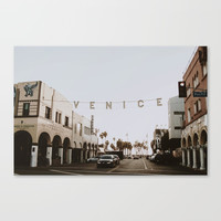 venice Canvas Print by mauikauai