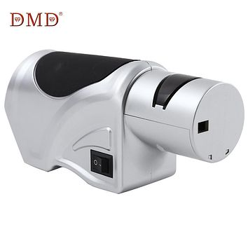 DMD Electric Three-stage Diamond Knife Sharpener Sharpening System high-speed Sharpening stone Diamond Grinding Wheel Kitchen