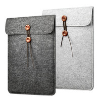 "Newest Wool Felt Sleeve Case Bag For MacBook Laptop Air 11"",13"",Pro 13"",15"" Retina,For Ipad, Envelope Bag,Free Drop Ship. XL02"