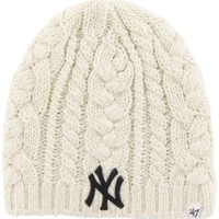 '47 Women's New York Yankees Ivory Shawnee Knit Hat | DICK'S Sporting Goods