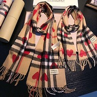 Perfect Burberry  Parenting Wool Scarf Shawl Scarf