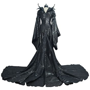 Dark Witch Maleficent Adult  Halloween Party Cosplay Costume