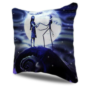 Nightmare Before Christmas Jack skellington and Sally Pillow Cases