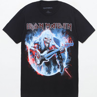 Iron Maiden Eddie Bass T-Shirt at PacSun.com