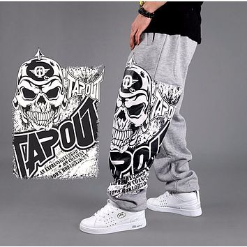 Spring tide male hip-hop easy street dance pants Hip-hop clothing who pants comfortable Sweatpants