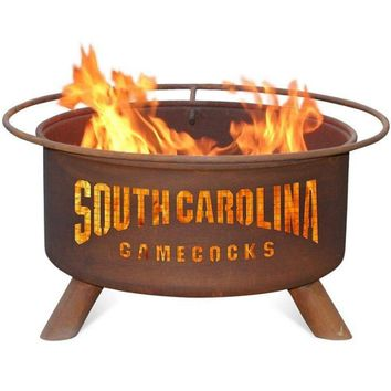 South Carolina Steel Fire Pit by Patina Products