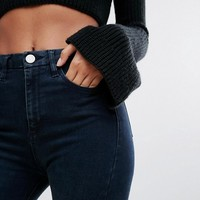 ASOS 'SCULPT ME' Premium Jeans in Grace Dark Wash at asos.com
