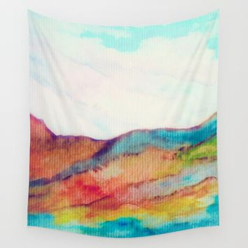 Improvisation 15 Wall Tapestry by ViviGonzalezArt