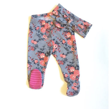 c23d6383234f Shop Newborn Girl Take Home Outfit on Wanelo