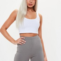 Missguided - Gray Cycling Shorts