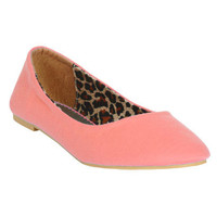 Jersey Skimmer Flat | Shop Shoes at Wet Seal