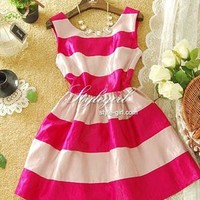 A 072903 Sexy sweet striped dress from cassie2013