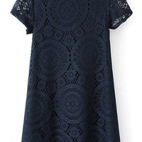 Sweet Lace Peasant Dress