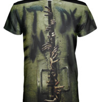 The Walking Dead All over print T-shirt