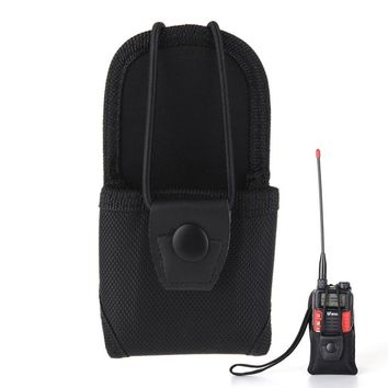 Walkie Talkie Accessories bag Nylon Carry Case for Baofeng radio 888s two way radio