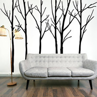 Living Room Bedroom Waterproof Wall Sticker [6284003398]