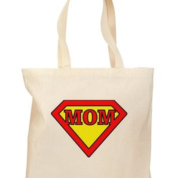 Super Mom Grocery Tote Bag