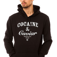 The Cocaine & Caviar Hoody in Black and White