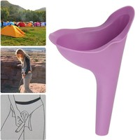 Girls Women Urine Funnel Wee Urinal Female Camping Travelling Festival Standing Pee