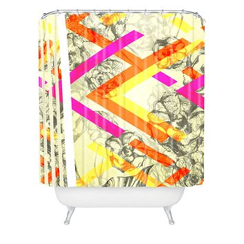 Pattern State Chevy Rose Shower Curtain