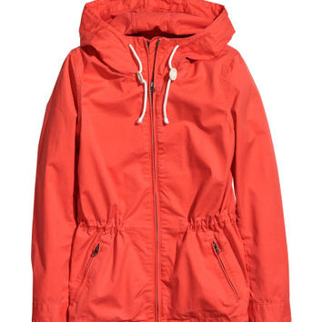 Cotton Twill Jacket - from H&M