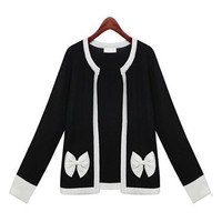 Long Sleeve Bow Jacket