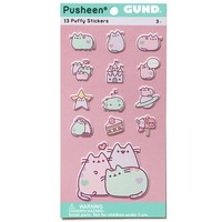 Pusheen Pastel Puffy Stickers