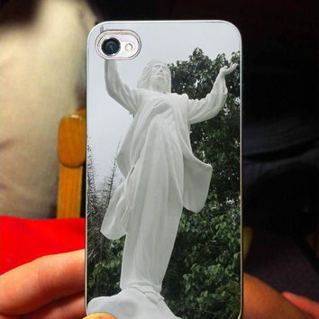 Statue of Jesus, Kudus, Heaven, For iPhone 4/4s Case, iPhone 5/5s/5c Case, Samsung Galaxy S3/S4 Case