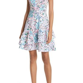 kate spade new york daisy garden stretch cotton poplin dress | Nordstrom