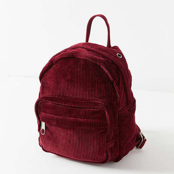 Mini Corduroy Backpack   Urban Outfitters